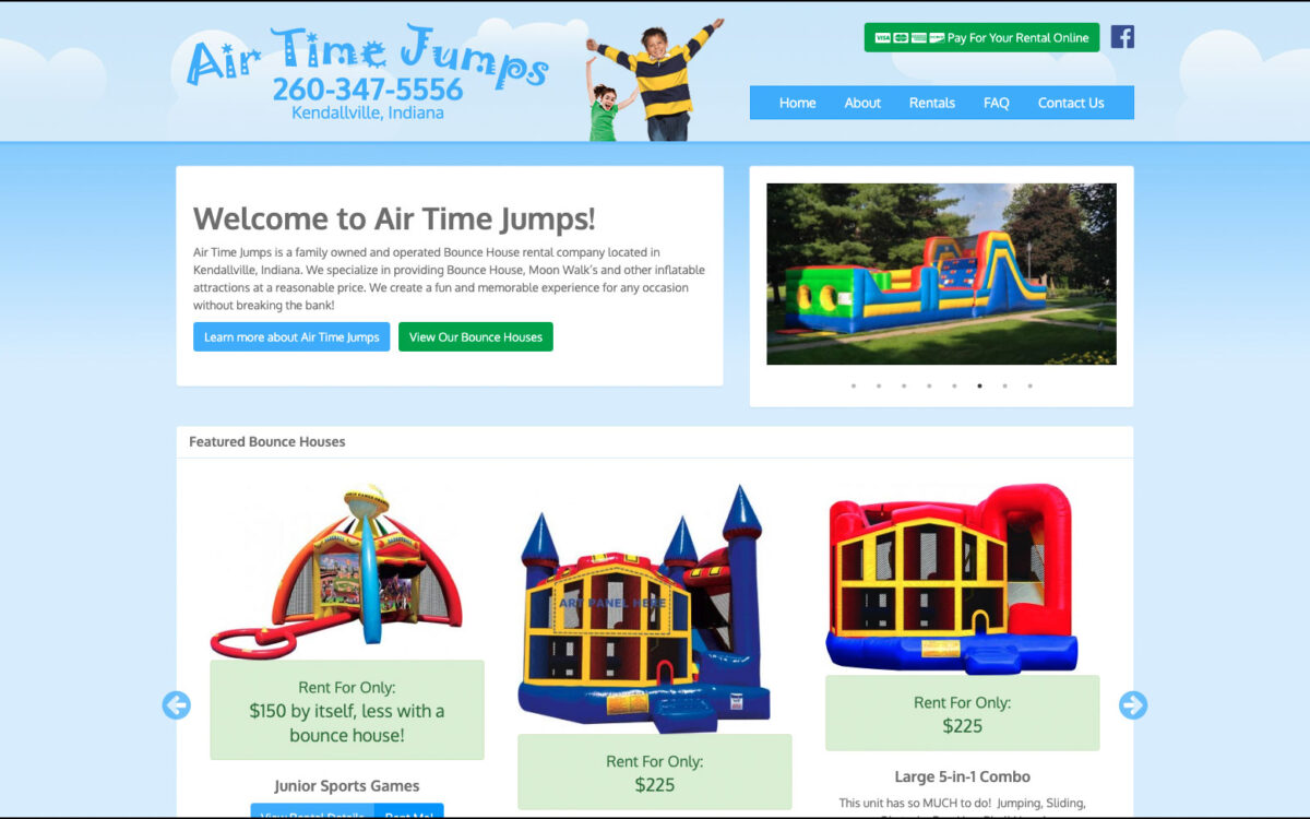 Air Time Jumps - Home Page