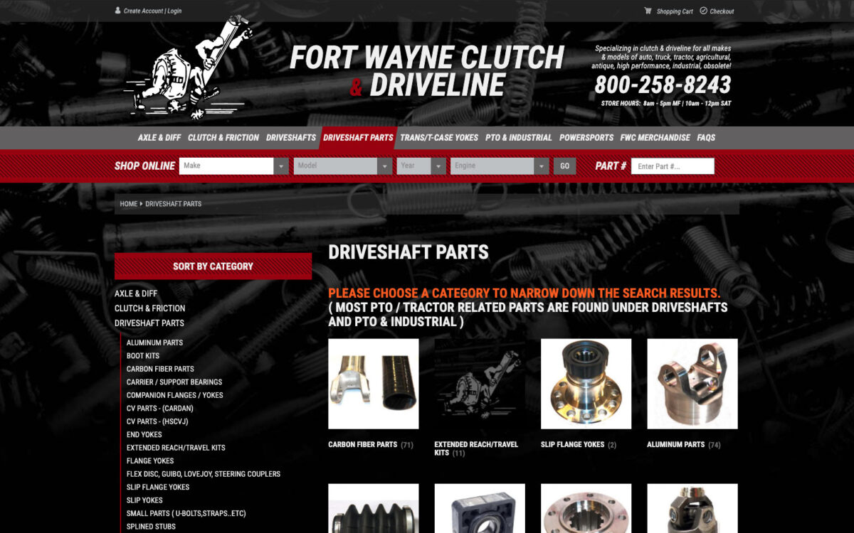 Fort Wayne Clutch - Category Page