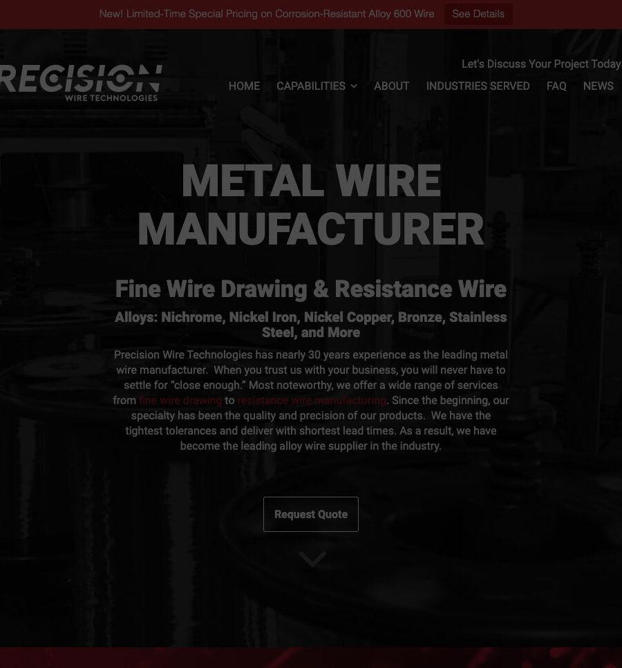 Precision Wire Technologies