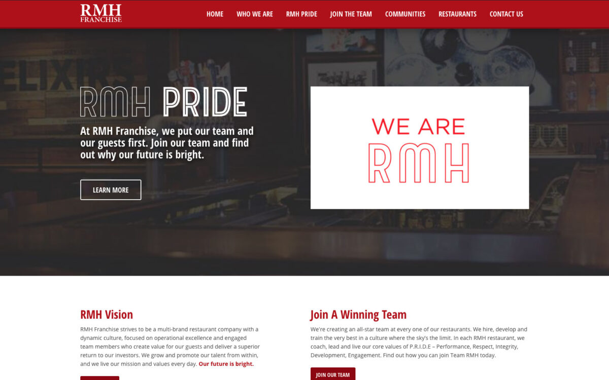RMH Franchise - Home