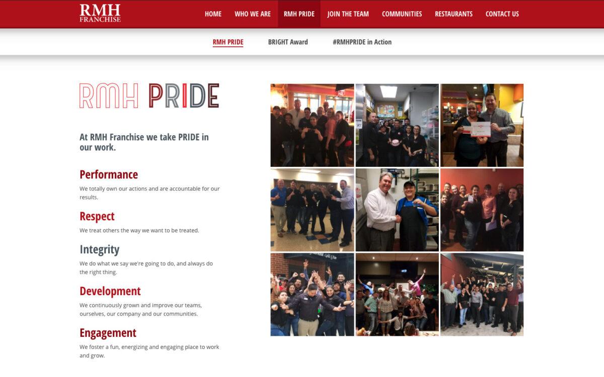 RMH Franchise - Pride